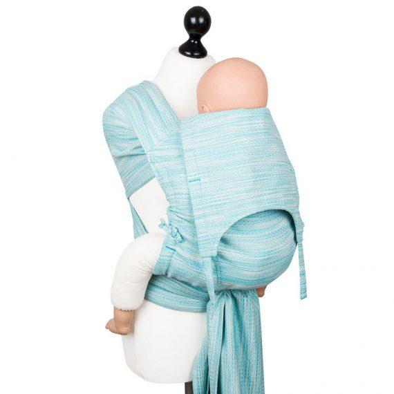 Toddler Size: Fidella FlyTai – Heart Rows Gradient Sky