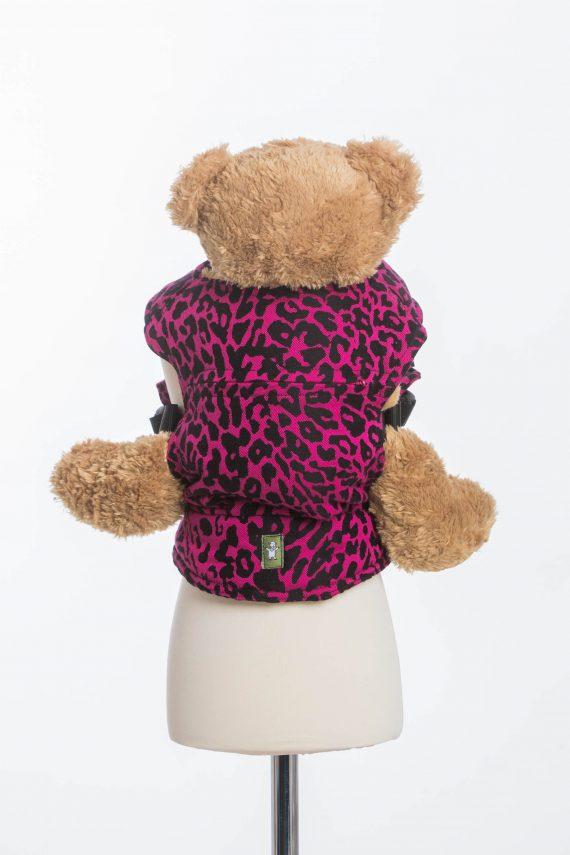 Lenny Lamb Docksele – Cheetah Black & Pink