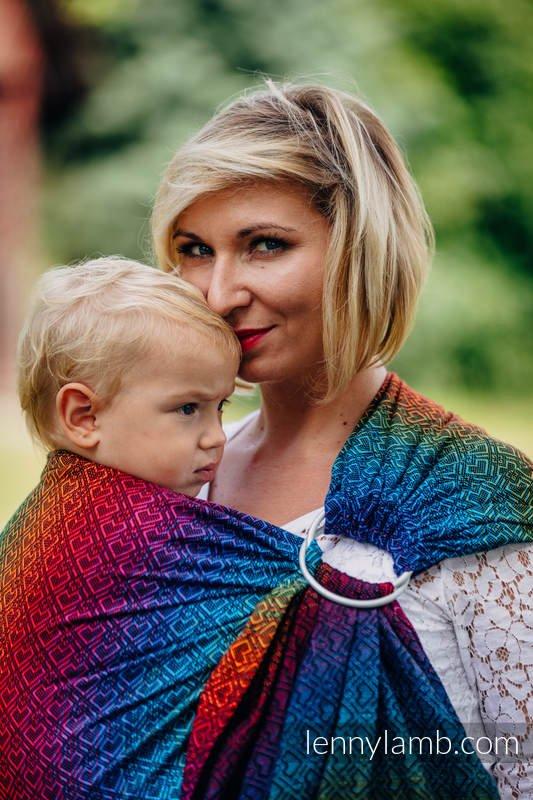 Lenny Lamb Ringsjal – Big Love Rainbow Dark
