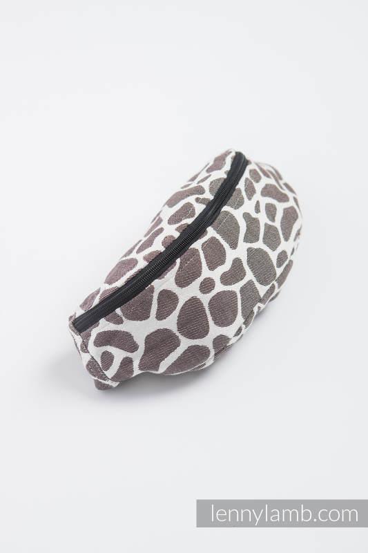 Lenny Lamb Waist Bag – Giraffe Dark Brown & Creme