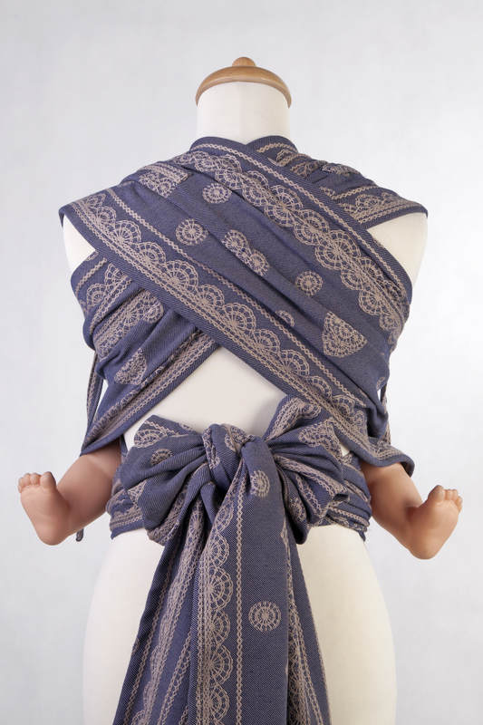 WrapTai Toddler – Blueberry Lace