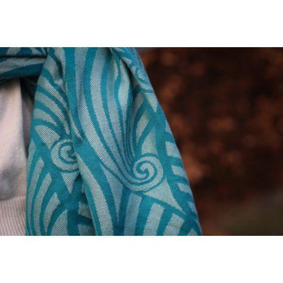 Yaro Ringsjal – Dandy Teal Wool