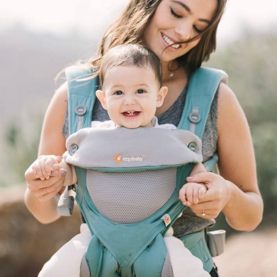 Ergobaby 360 – Cool Air Icy Mint