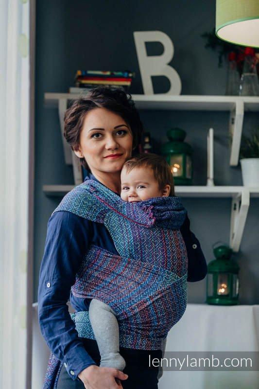 WrapTai Toddler – Big Love Sapphire