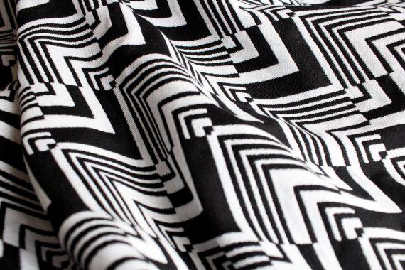 Yaro Ringsjal – Ziggy Contra Black-White Wool Repreve