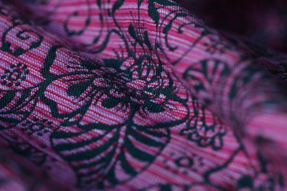 Yaro Ava Contra Black Pink Random Wool – storlek 6