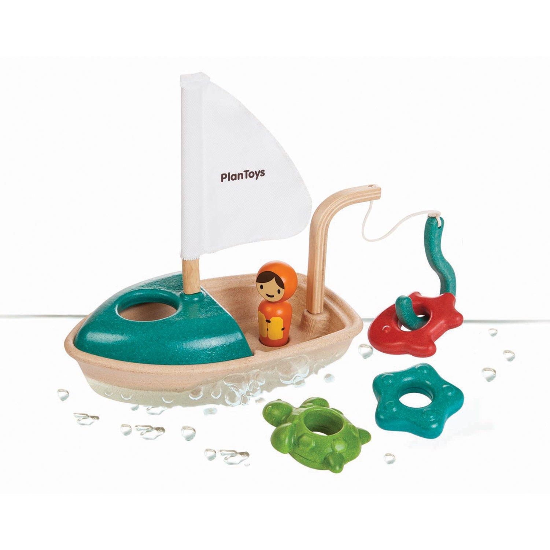 PlanToys Aktivitetsbåt +2 år
