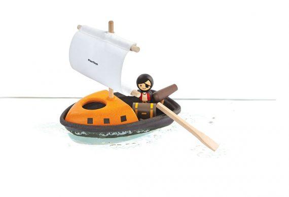 PlanToys Piratbåt +2 år